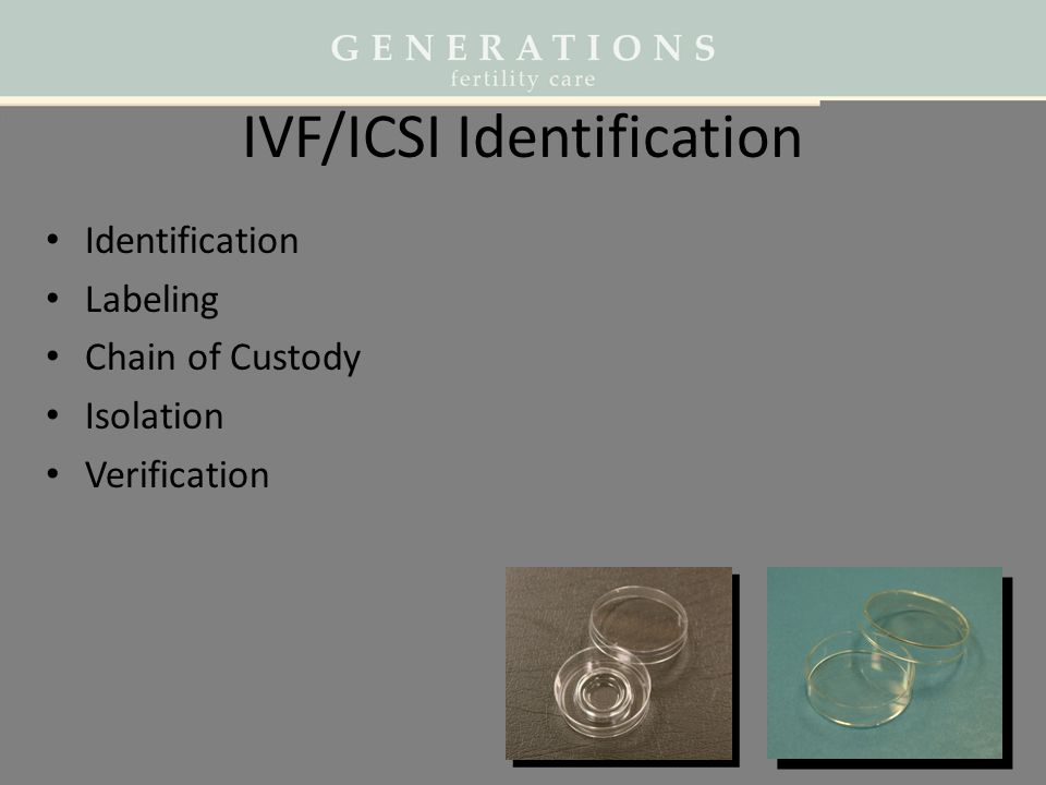 IVF/ICSI Identification