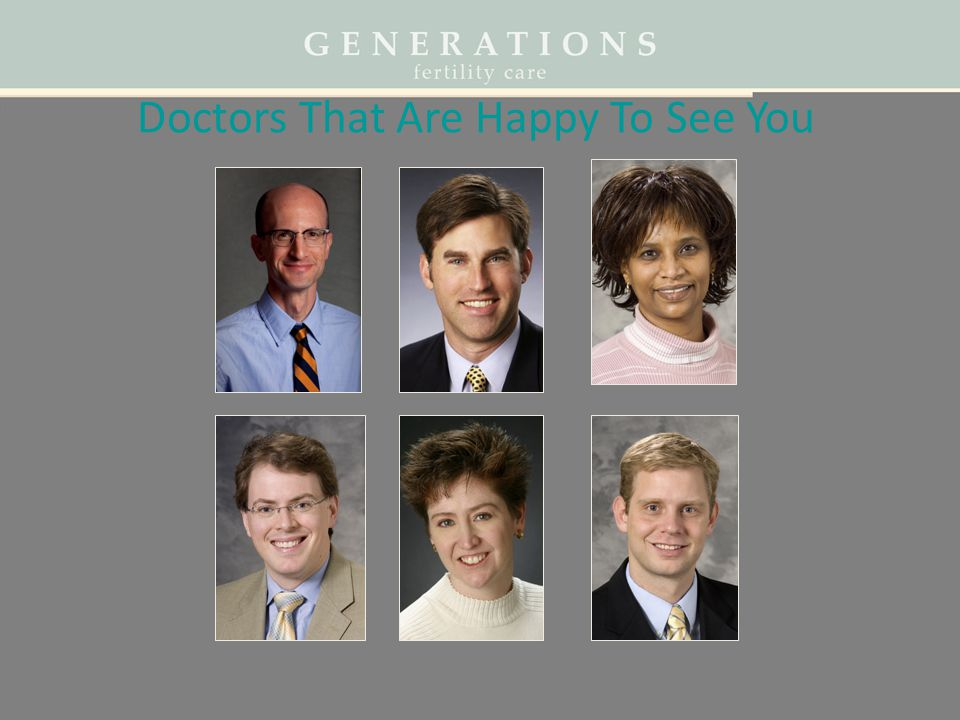 Doctors That Are Happy To See You