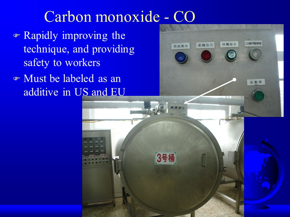 Carbon monoxide - CO Rapidly improving the technique, and providing safety to workers.