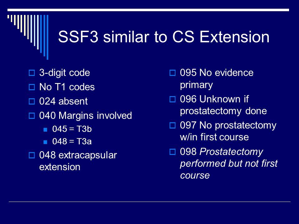 SSF3 similar to CS Extension