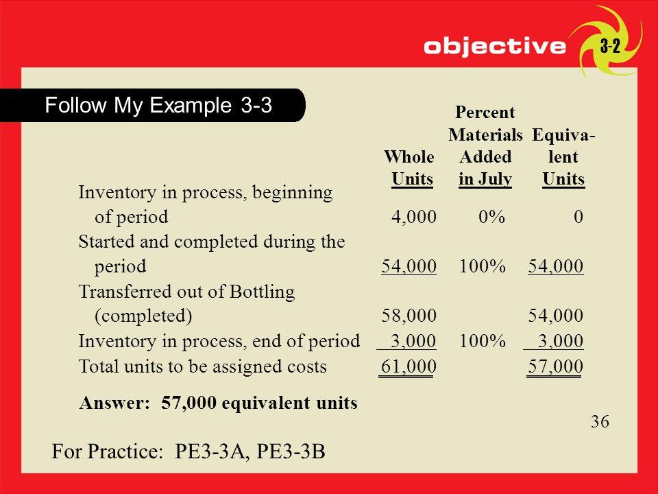 For Practice: PE3-3A, PE3-3B