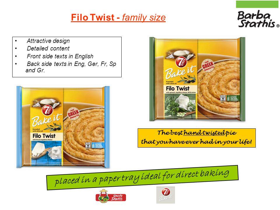 Filo Twist - family size