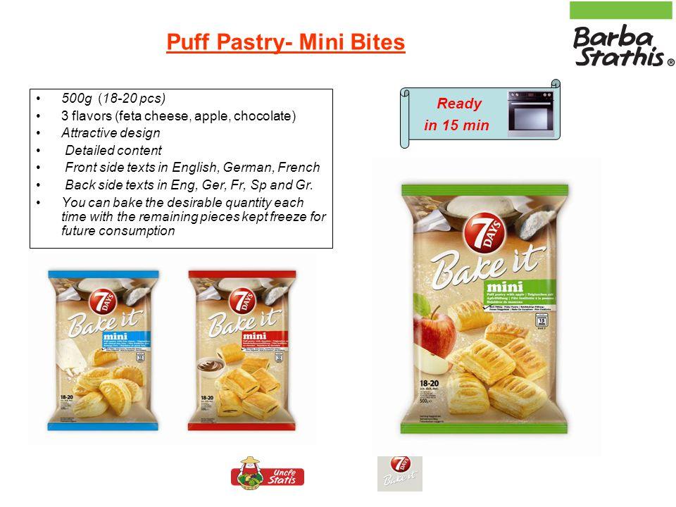 Puff Pastry- Mini Bites