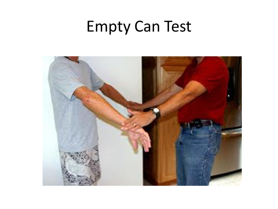 Empty Can Test