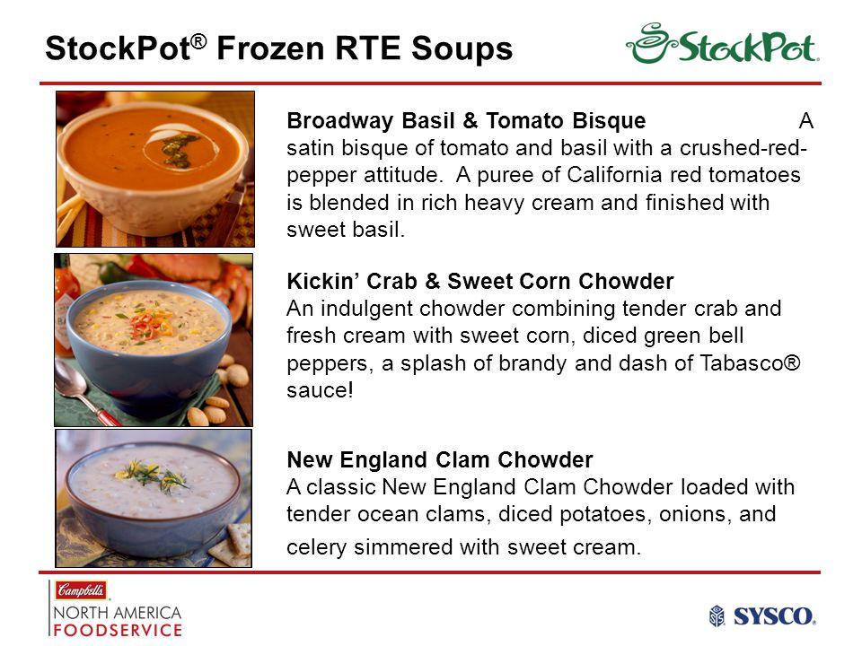 StockPot® Frozen RTE Soups