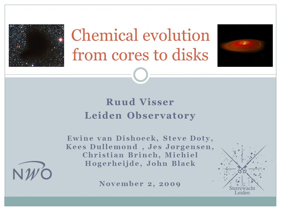 Chemical evolution from cores to disks