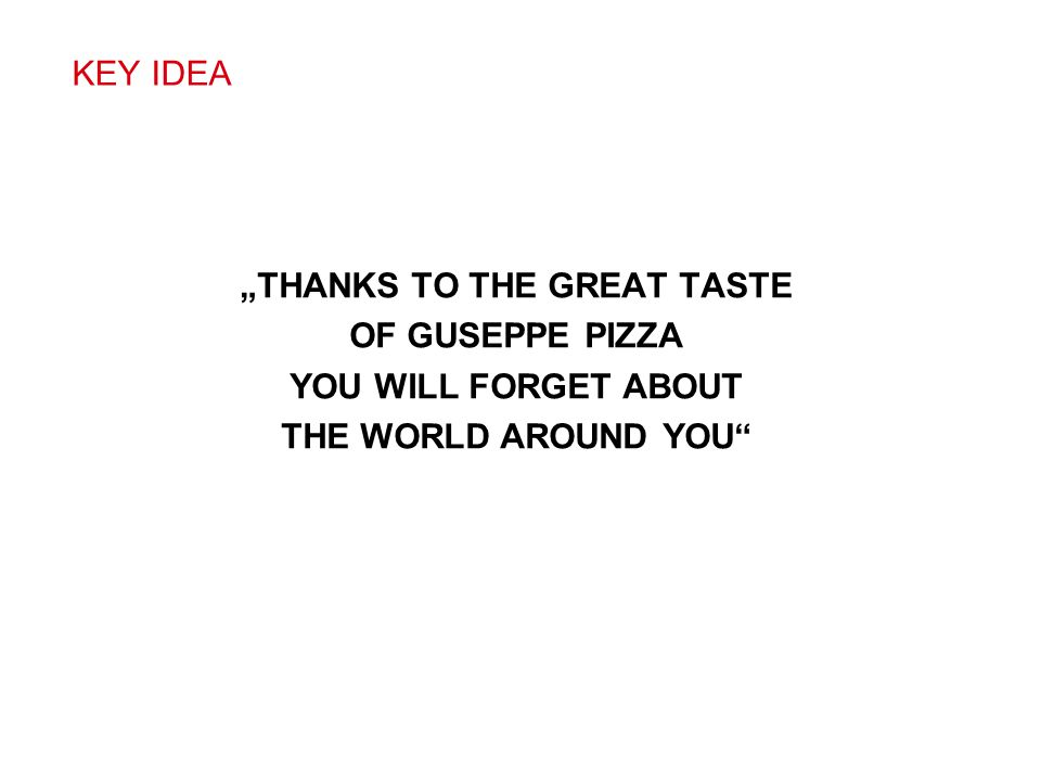 """THANKS TO THE GREAT TASTE"