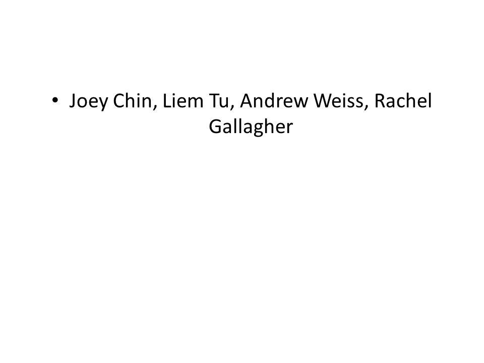 Joey Chin, Liem Tu, Andrew Weiss, Rachel Gallagher