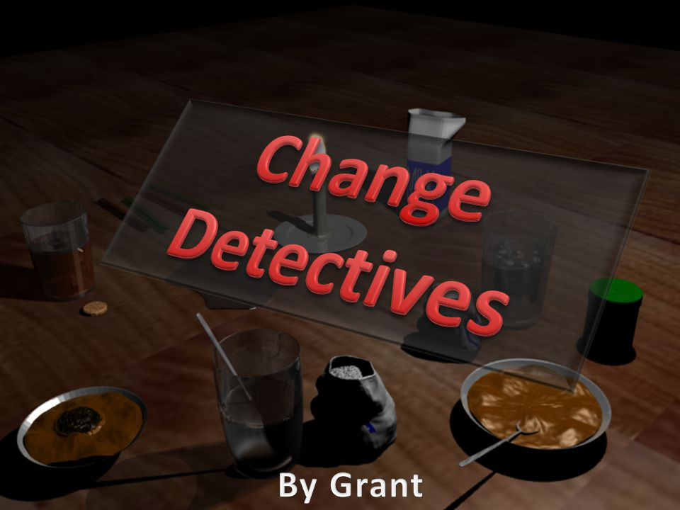 Change Detectives By Grant