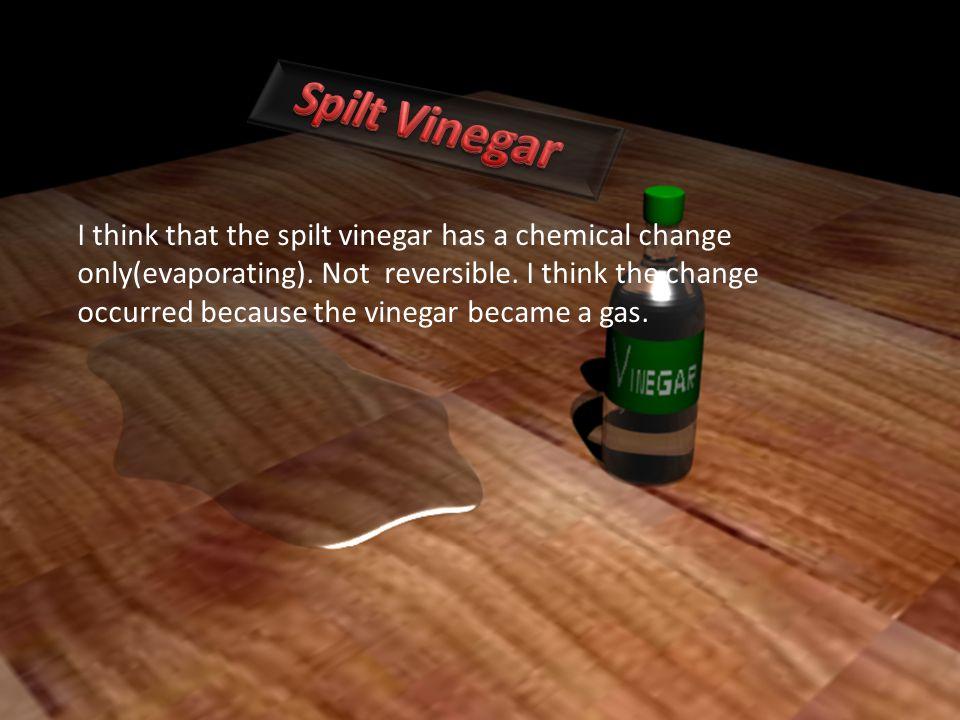Spilt Vinegar