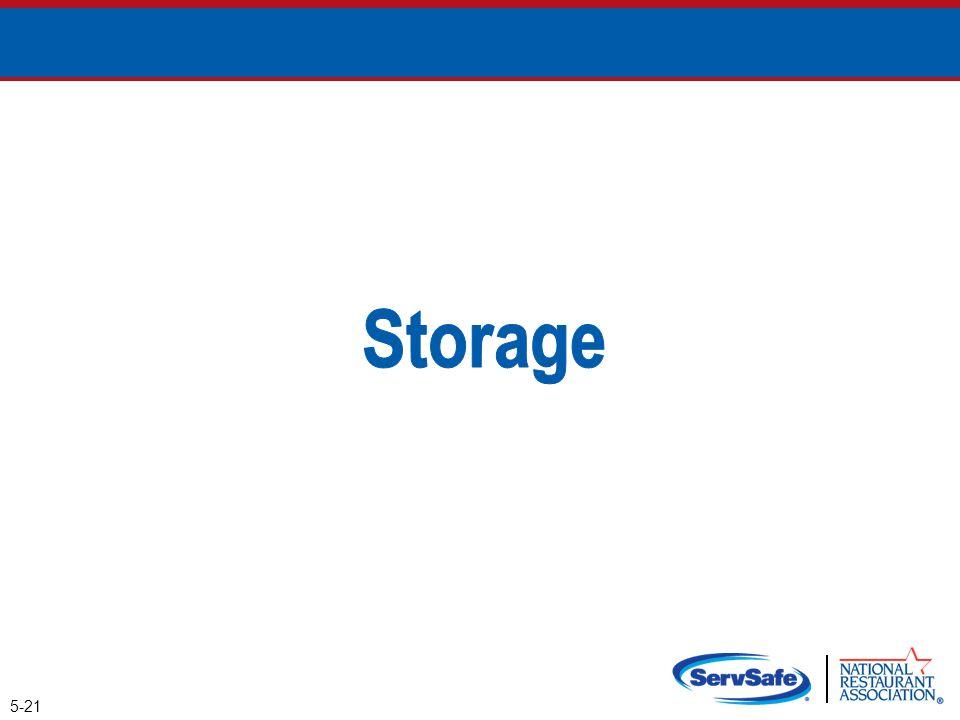 Storage 5-21