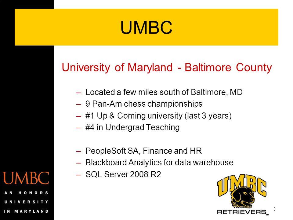 UMBC University of Maryland - Baltimore County