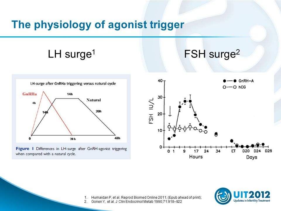 The physiology of agonist trigger