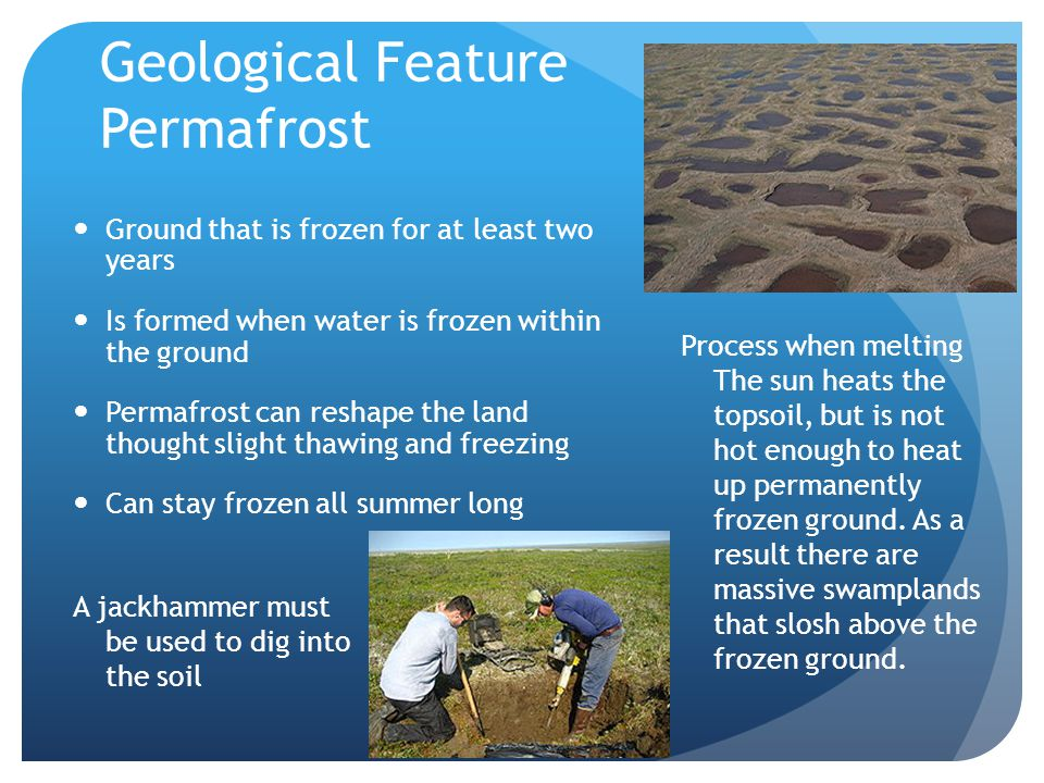 Geological Feature Permafrost