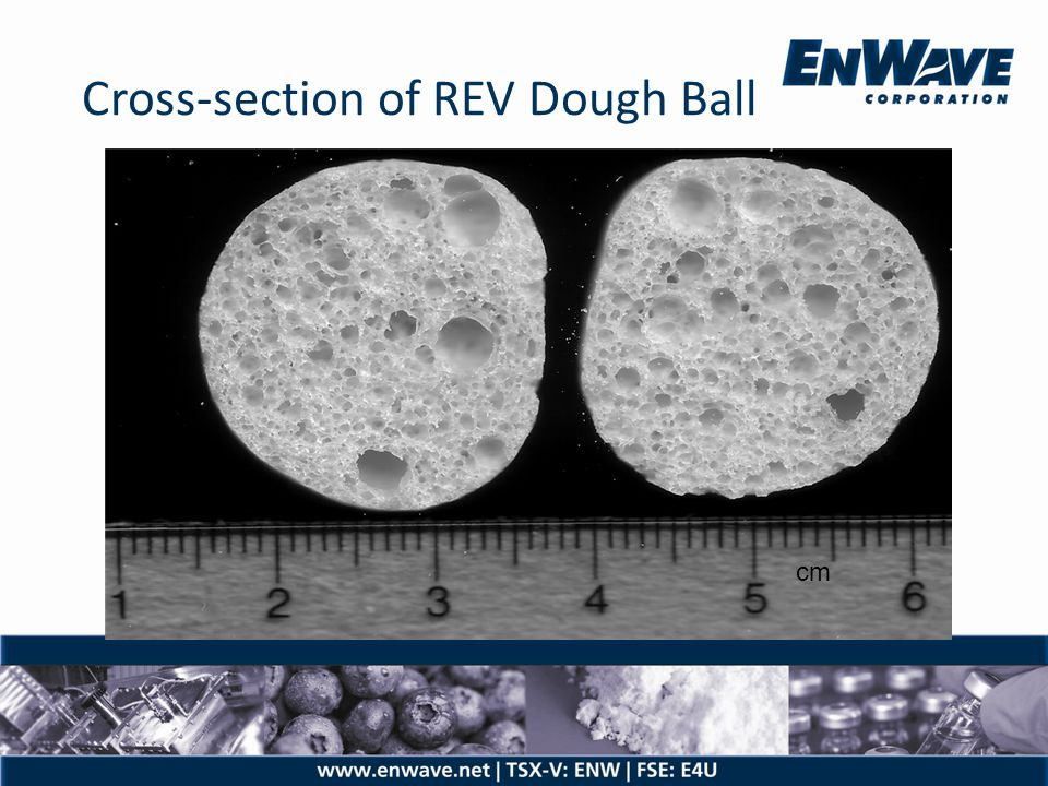 Cross-section of REV Dough Ball