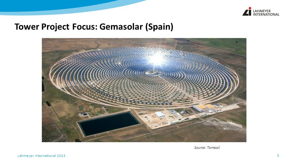Tower Project Focus: Gemasolar (Spain)