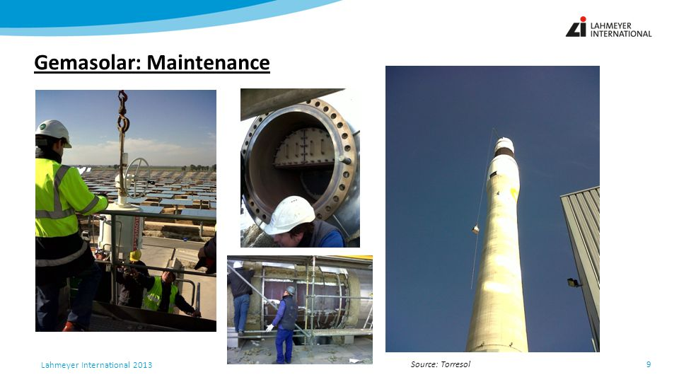 Gemasolar: Maintenance