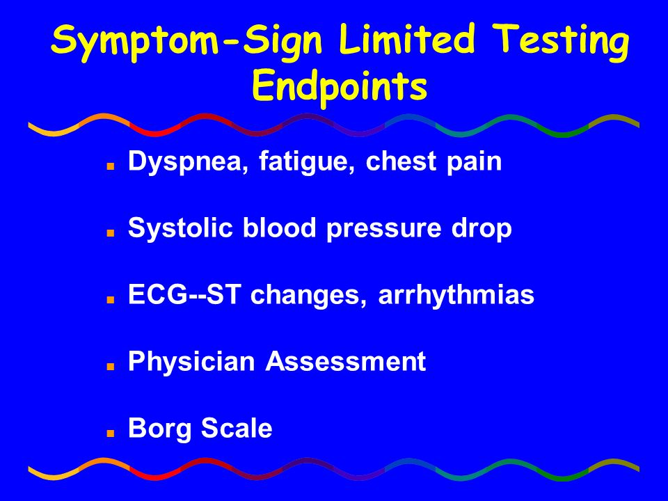 Symptom-Sign Limited Testing Endpoints