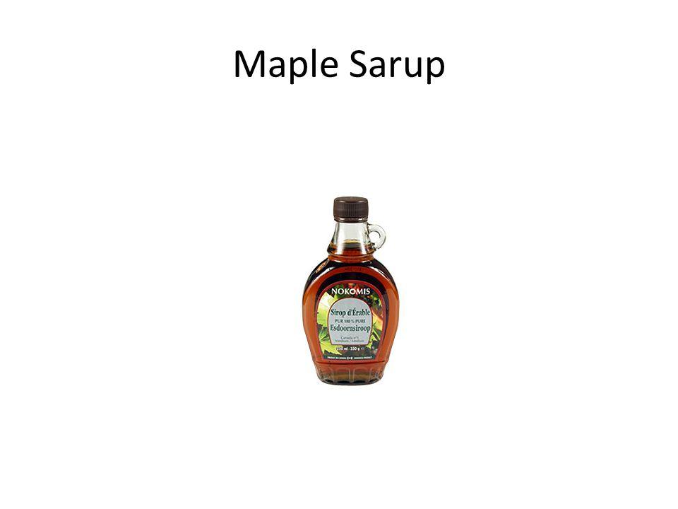 Maple Sarup