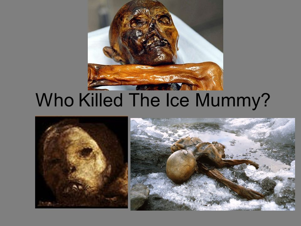 Who Killed The Ice Mummy