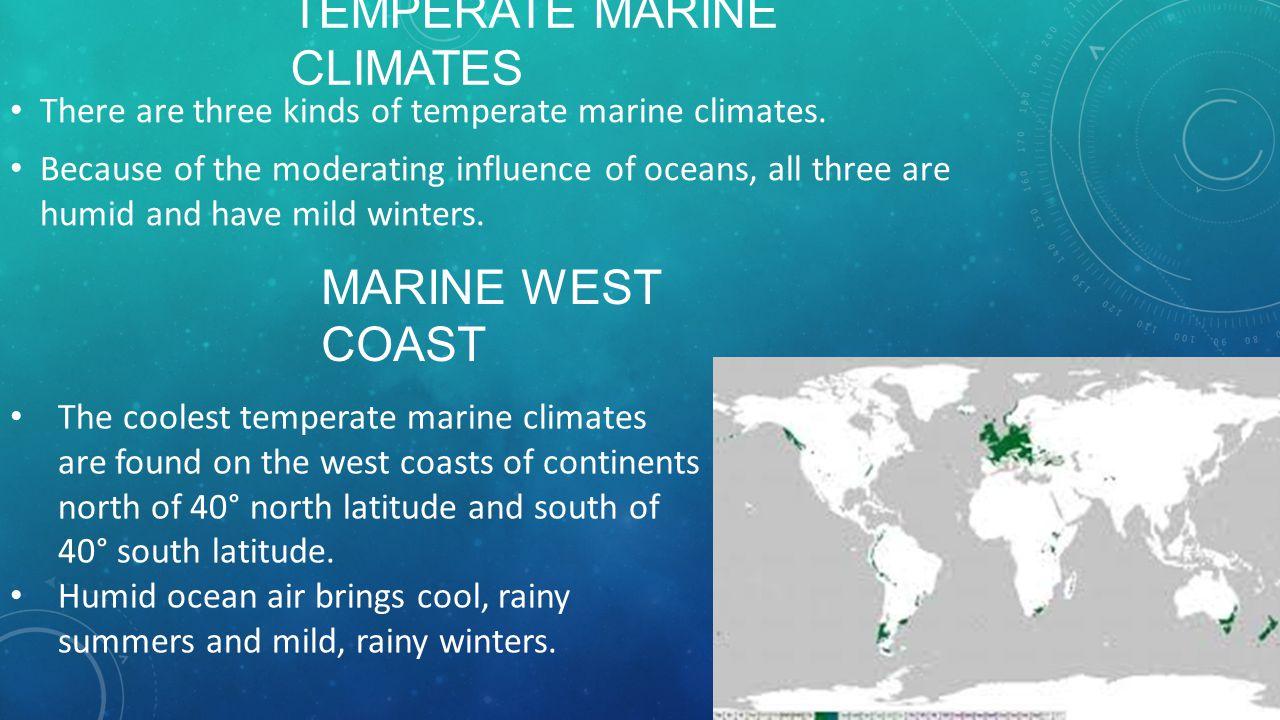 Temperate Marine Climates