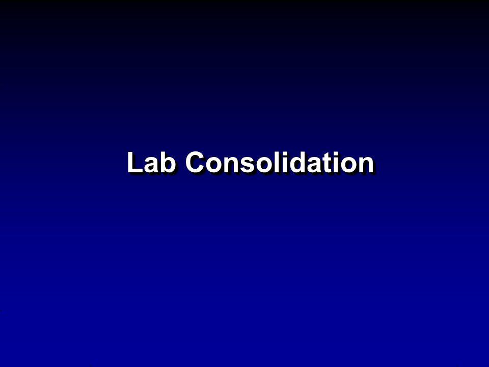 Lab Consolidation