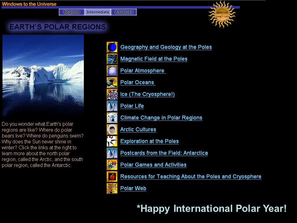 *Happy International Polar Year!