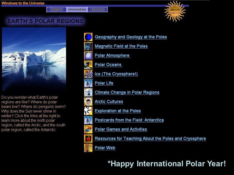 *Happy International Polar Year!