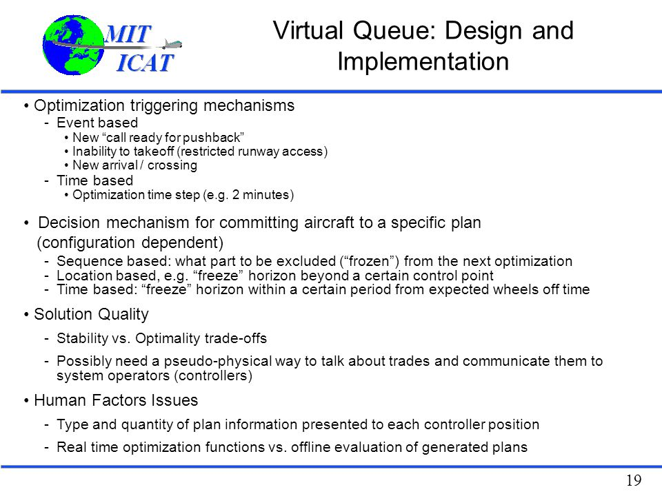 Virtual Classroom Design And Implementation ~ Airport departure planning and control ppt video online