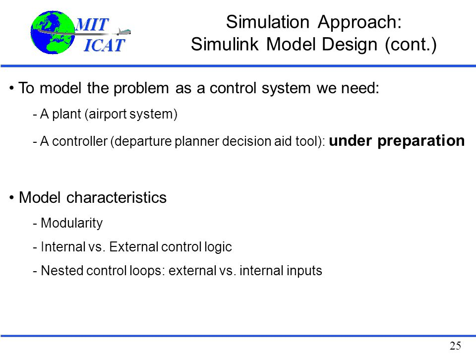 Simulation Approach: Simulink Model Design (cont.)