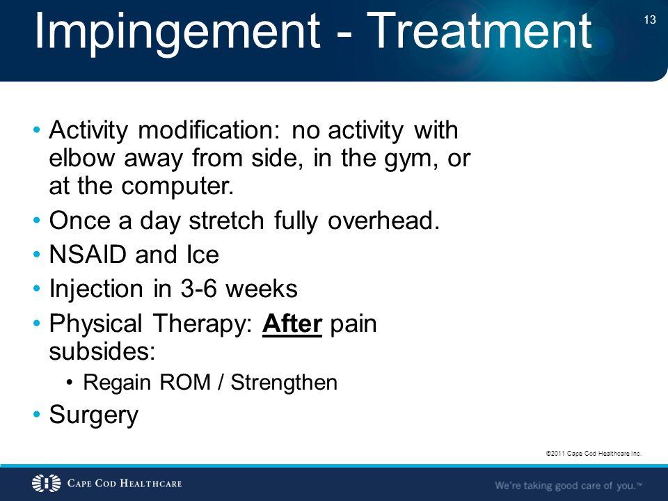 Impingement - Treatment