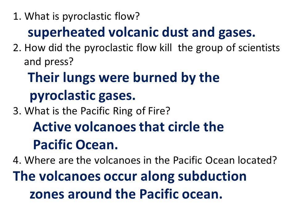 Active volcanoes that circle the Pacific Ocean.