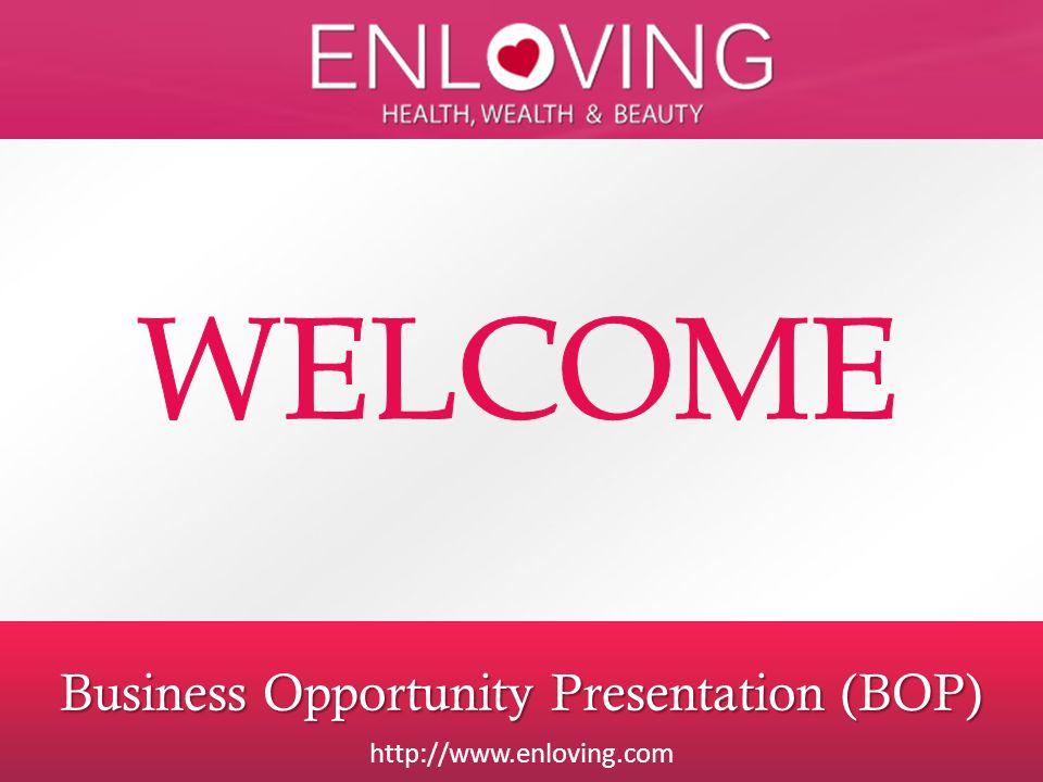 Business Opportunity Presentation (BOP)