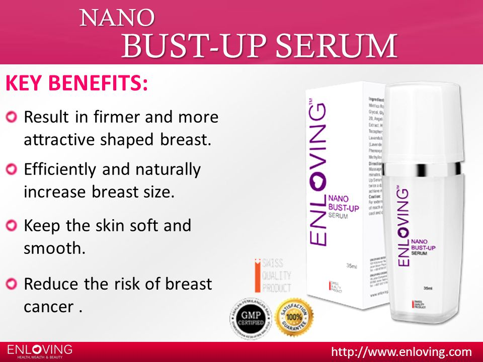 BUST-UP SERUM NANO KEY BENEFITS:
