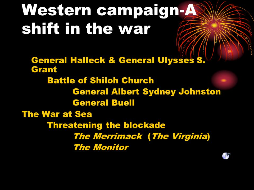 Western campaign-A shift in the war