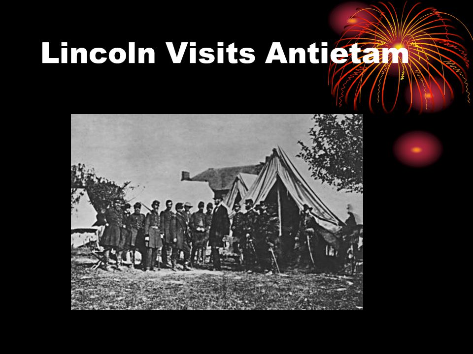 Lincoln Visits Antietam