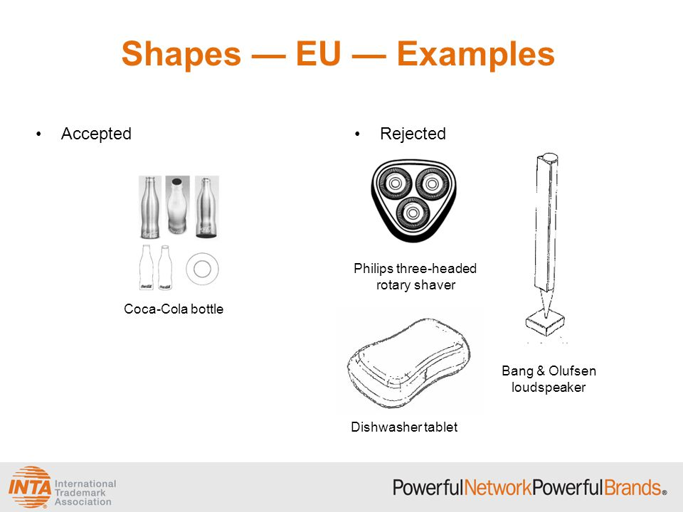 Shapes — EU — Examples Accepted Rejected