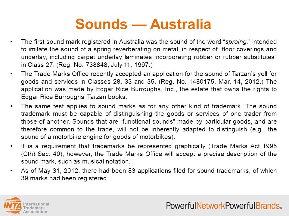 Sounds — Australia