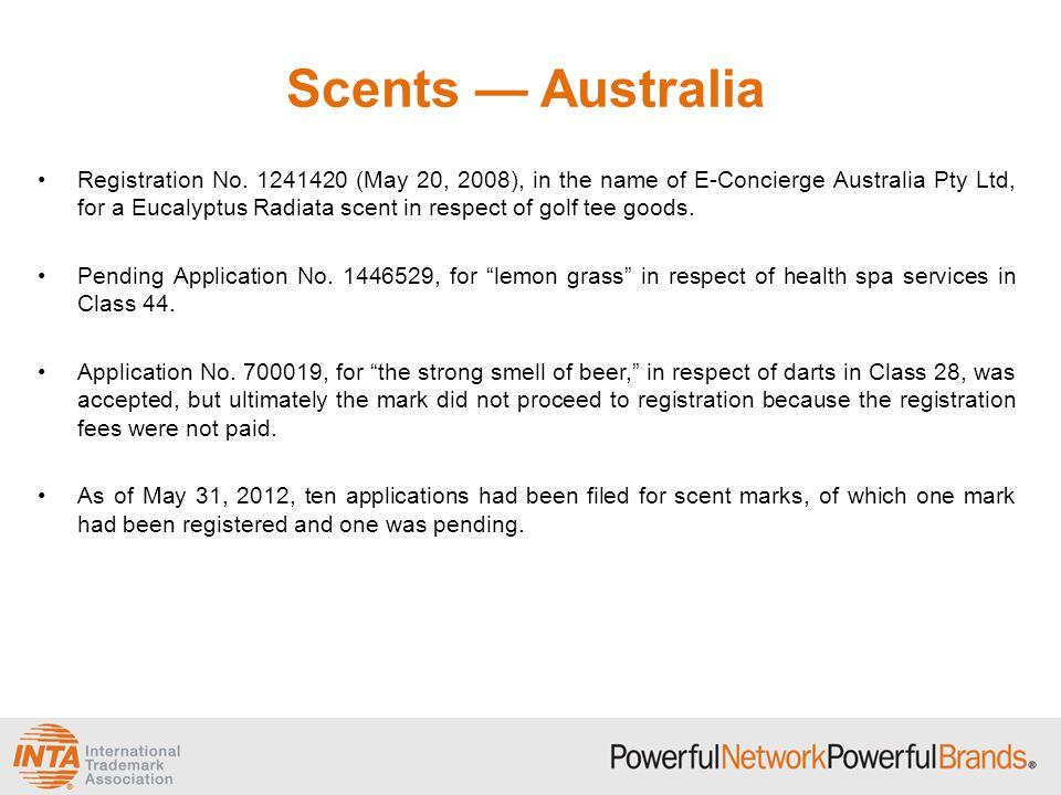 Scents — Australia