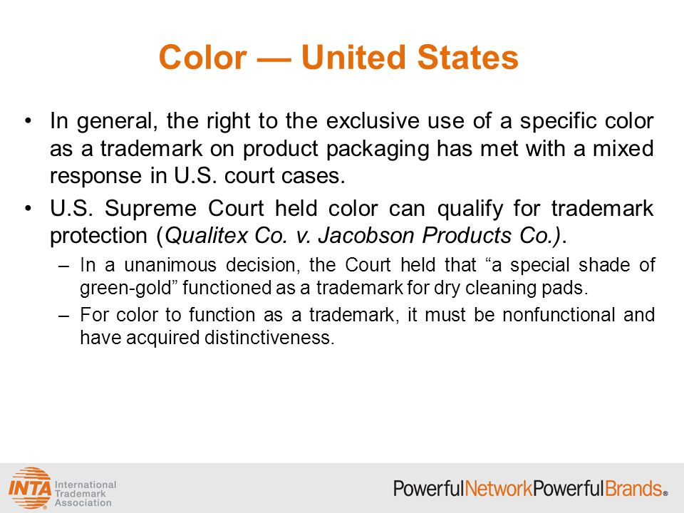 Color — United States