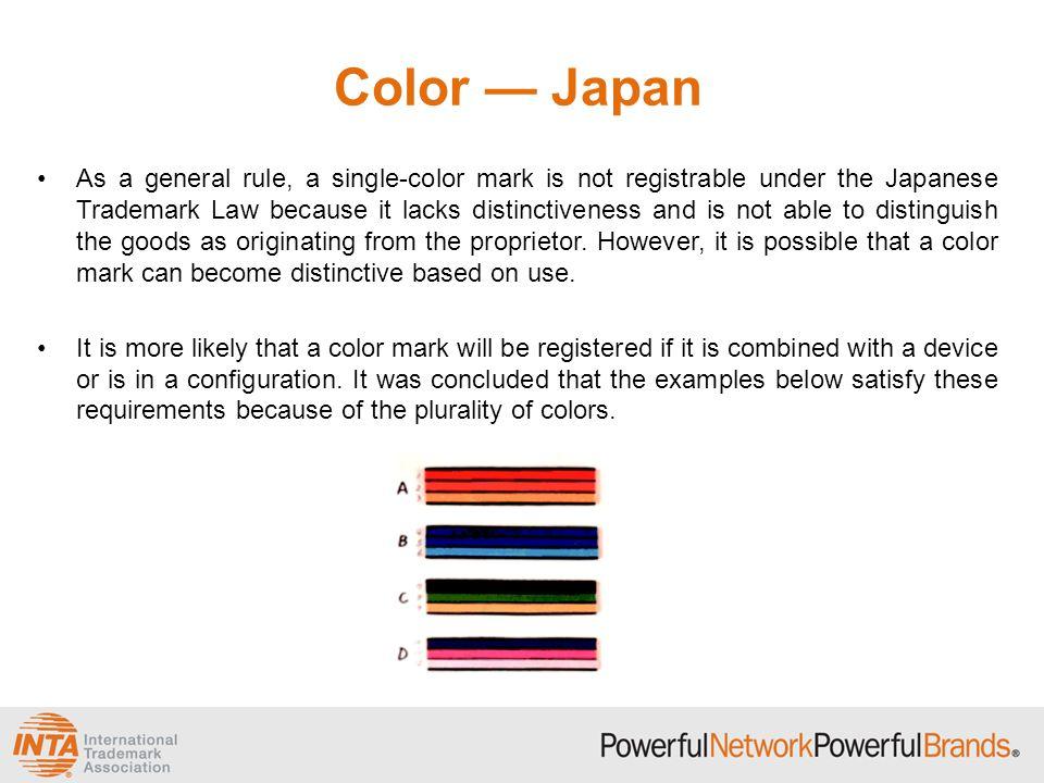 Color — Japan