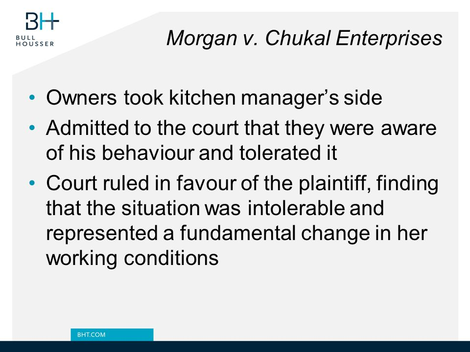 Morgan v. Chukal Enterprises