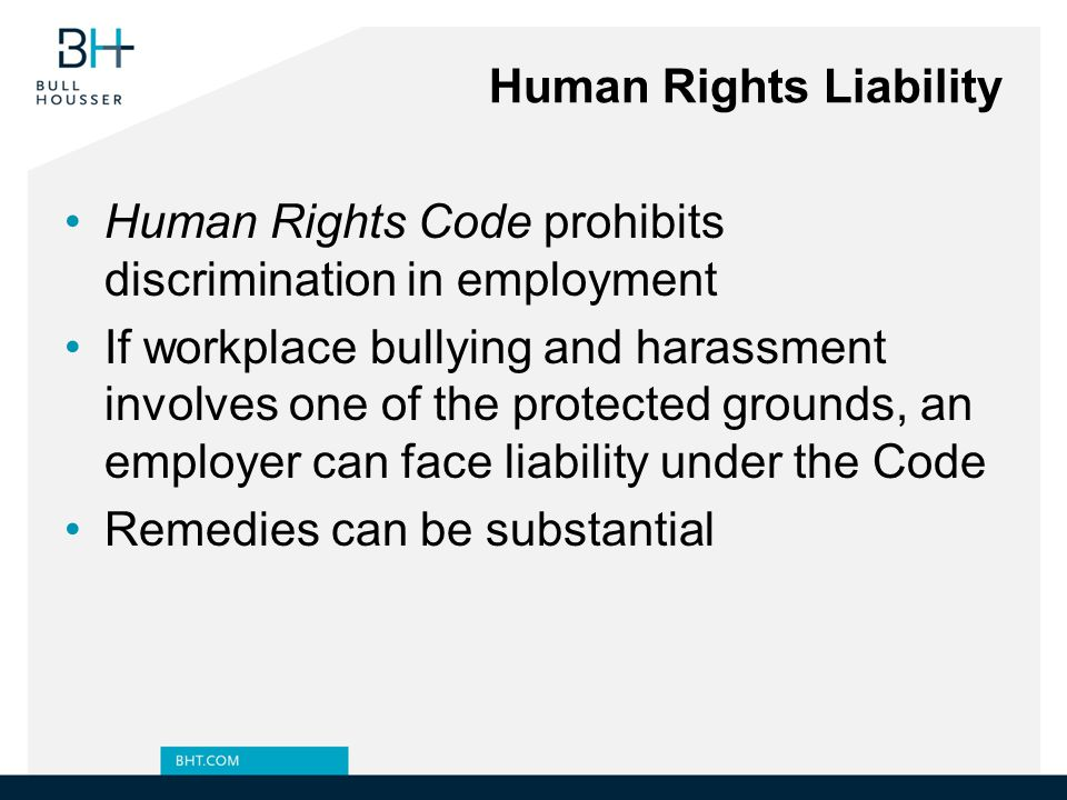 Human Rights Liability