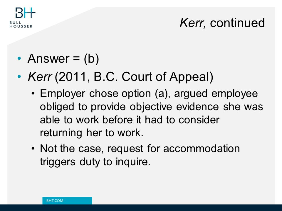 Kerr (2011, B.C. Court of Appeal)