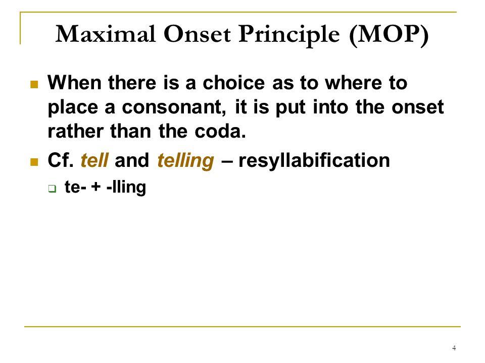 Maximal Onset Principle (MOP)