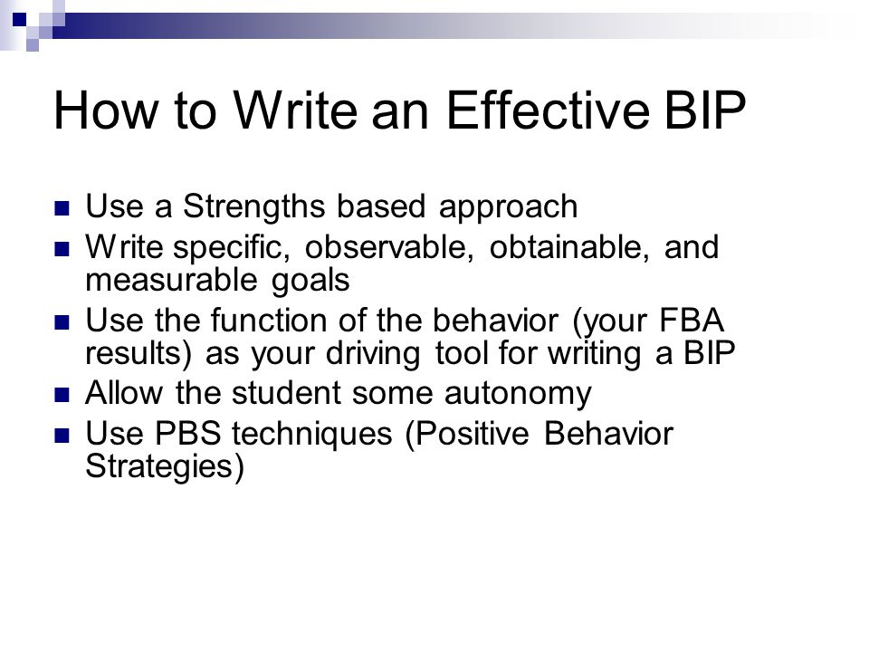 How to Write an Effective BIP