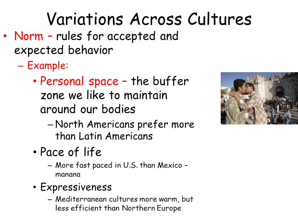 Variations Across Cultures