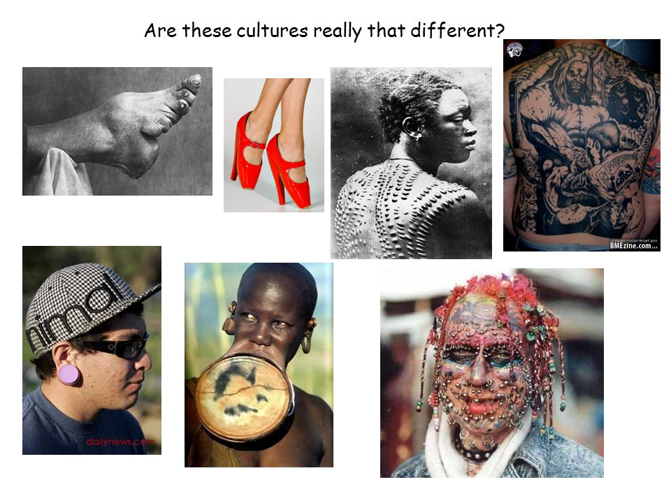 Are these cultures really that different