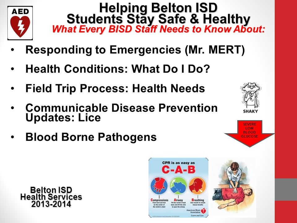 Helping Belton ISD Students Stay Safe & Healthy