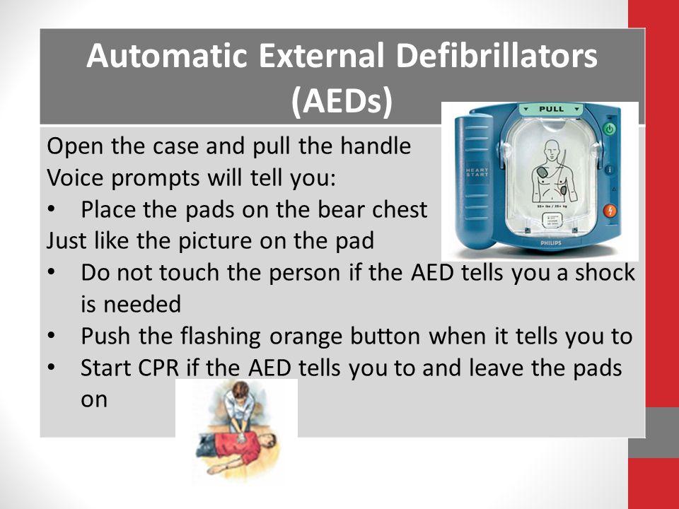 Automatic External Defibrillators (AEDs)